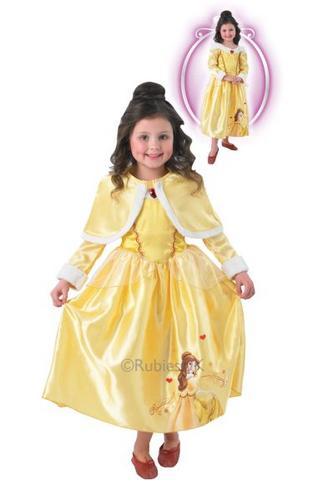Belle Winter Wonderland Costume Thumbnail 1