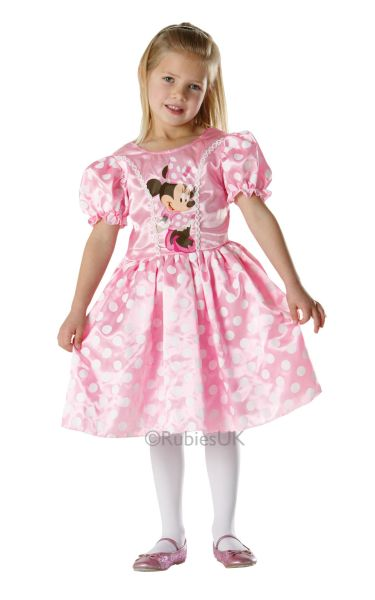 Pink Minnie Classic Fancy Dress Costume Thumbnail 1