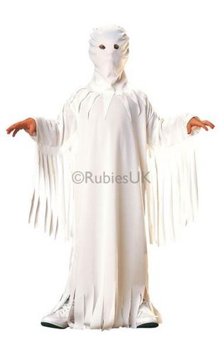 Ghost Fancy Dress Costume Thumbnail 1