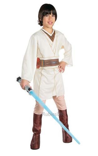 Boys Obi Wan Kenobi Fancy Dress Costume Thumbnail 1
