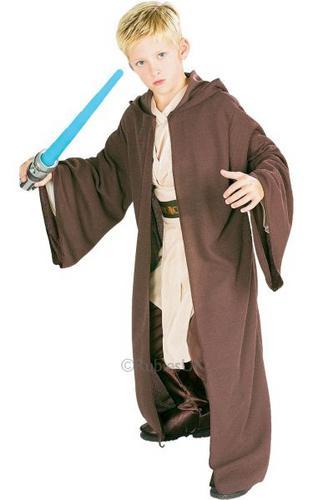 Kids Licensed STAR WARS Deluxe Jedi Robe Thumbnail 1