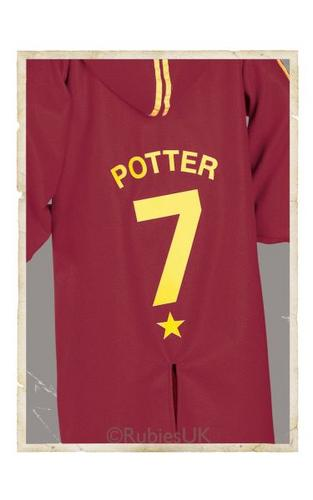 Childs Quidditch Robe Fancy Dress Costume Thumbnail 1