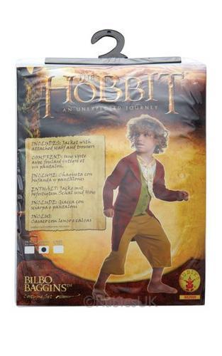The Hobbit Childs Bilbo Baggins Costume Thumbnail 2