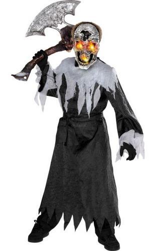Kids Skull Fancy Dress Costume Thumbnail 1
