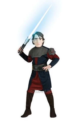 Boys Anakin Skywalker Fancy Dress Costume Thumbnail 1