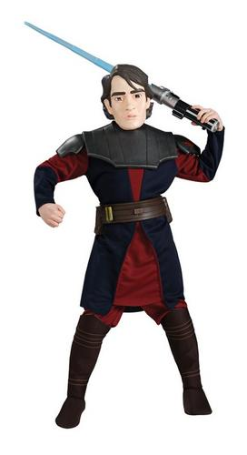 Deluxe Anakin Skywalker Fancy Dress Costume Thumbnail 1