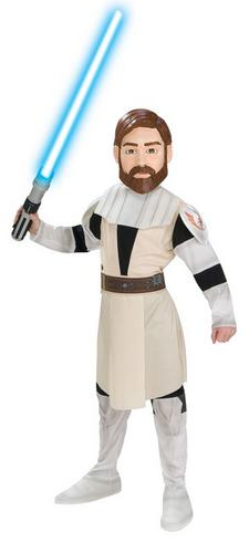 Boys Obi Wan Kenobi Fancy Dress Costume Thumbnail 1
