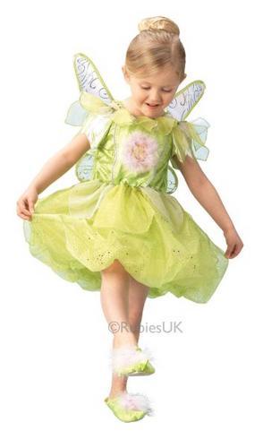 Tinkerbell Platinum Fancy Dress Costume Thumbnail 1