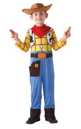 Kids Woody Fancy Dress Costume Thumbnail 1