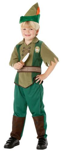Kids Peter Pan Fancy Dress Costume Thumbnail 1