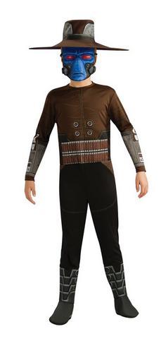 Boys Star Wars Cad Bane Fancy Dress Costume Thumbnail 1