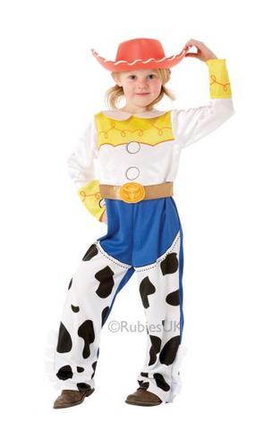 Girls Jessie Fancy Dress Costume Thumbnail 1