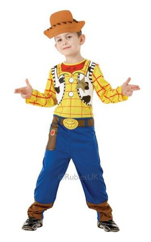 Boys Classic Woody Fancy Dress Costume Thumbnail 1