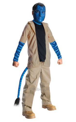 Avatar Kids Jake Sully Fancy Dress Costume Thumbnail 1