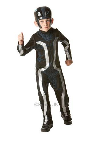 Kids Tron Fancy Dress Costume Thumbnail 1