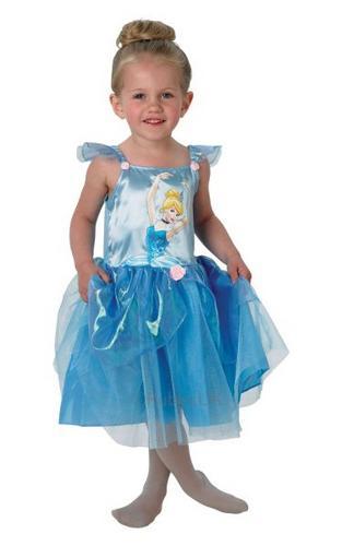 Cinderella Ballerina Fancy Dress Costume Thumbnail 1