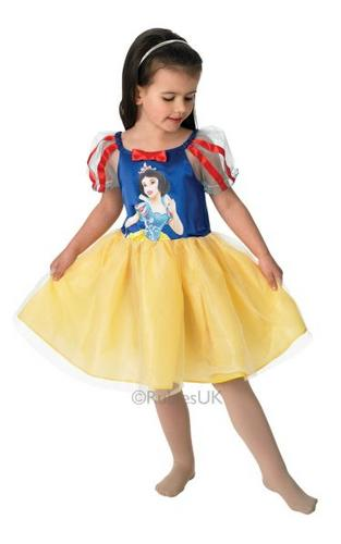 Snow White Ballerina Fancy Dress Costume Thumbnail 1