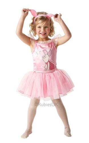 Piglet Ballerina Fancy Dress Costume Thumbnail 1