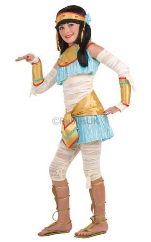 Kids Egyptian ista Costume Thumbnail 1
