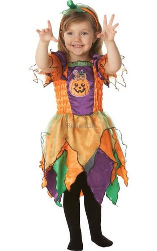 Pumpkin Witch Fancy Dress Costume Thumbnail 1