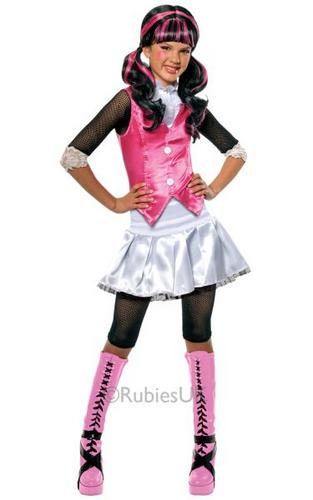 Draculaura Fancy Dress Costume Thumbnail 1