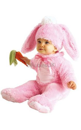 Precious Pink Wabbit Fancy Dress Costume Thumbnail 1