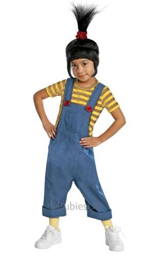 Desicable Me 2 Childs Deluxe Agnes Costume Thumbnail 1