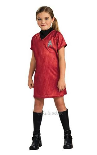 Star Trek Uhura  Red Dress Kids Thumbnail 1
