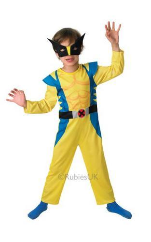 Kids Wolverine Costume Thumbnail 1