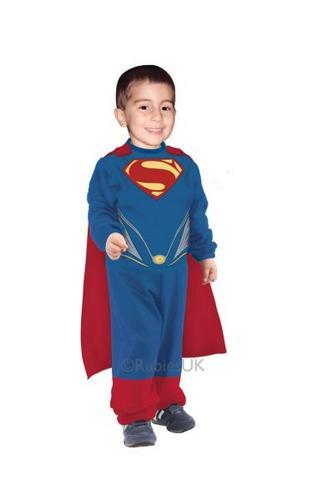 Toddler Superman TINY TIKES Fancy Dress costume  Thumbnail 1