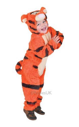 Tigger Furry Costume Thumbnail 1