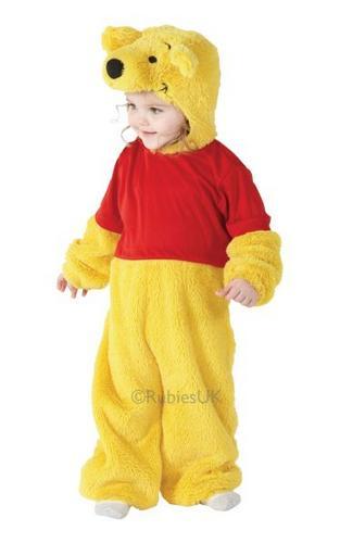 Kids Winnie The Pooh Fancy Dress Costume Thumbnail 1
