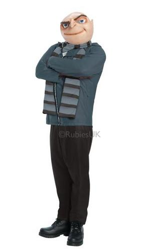 Despicable Me 2 Adult Gru Costume Thumbnail 1