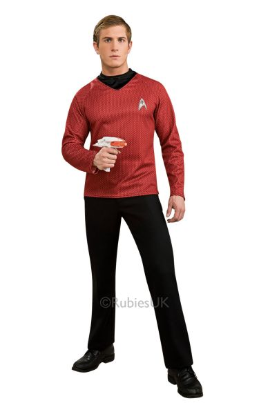 Adult Deluxe  Scotty Star Trek Shirt Thumbnail 1