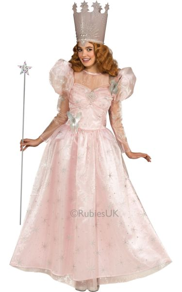 The Wizard Of OZ Glinda The Good Witch Adult Costume Thumbnail 1
