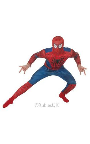 Marvel The Amazing Spiderman 2 Deluxe Costume Thumbnail 1