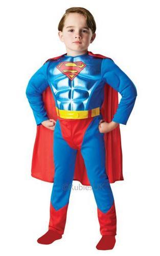 Metallic Chest DC Superman Thumbnail 1