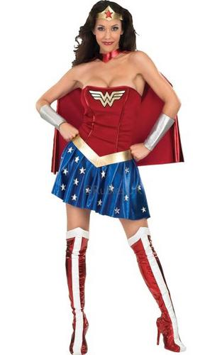 Wonder Woman Fancy Dress Costume Thumbnail 1