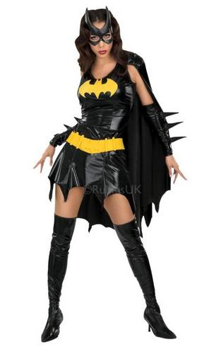 Bat Girl Fancy Dress Costume Thumbnail 1