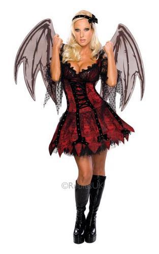 Vampire Fairy Fancy Dress Costume Thumbnail 1