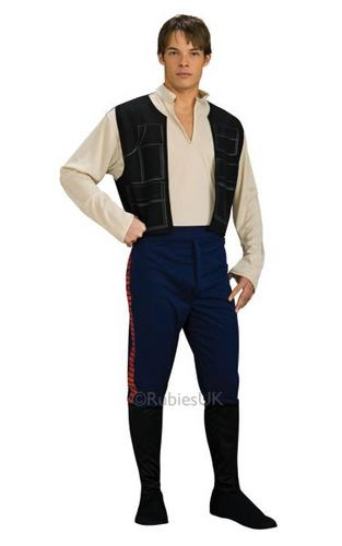 Han Solo Fancy Dress Costume Thumbnail 1