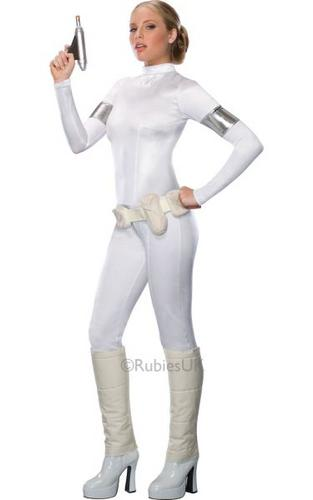 Padme Amidala Fancy Dress Costume Thumbnail 1