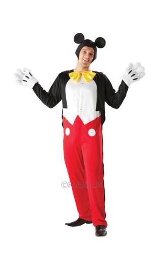 Mickey Mouse Fancy Dress Costume Thumbnail 1