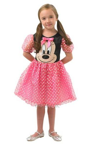 Disney Pink Puffball Minnie Mouse Costume Thumbnail 1