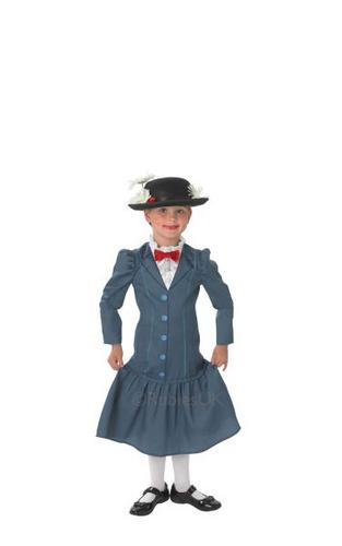 Disney Childs Mary Poppins Costume Thumbnail 1