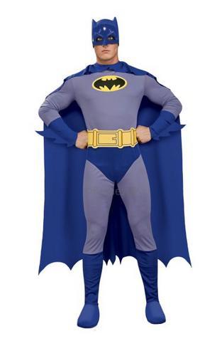 Bold and Brave Batman Fancy Dress Costume Thumbnail 1