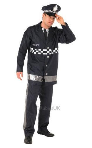 Policeman Fancy Dress Costume Thumbnail 1