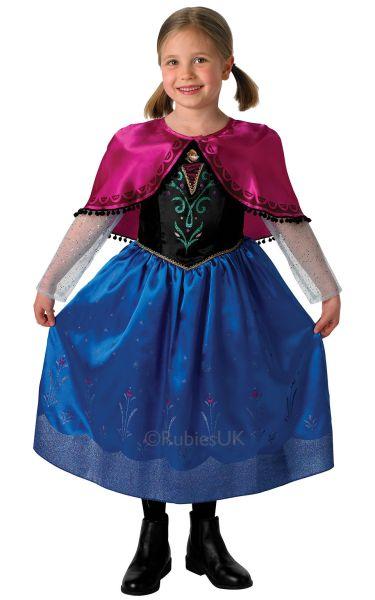 Disney Frozen Deluxe Anna Costume Thumbnail 1