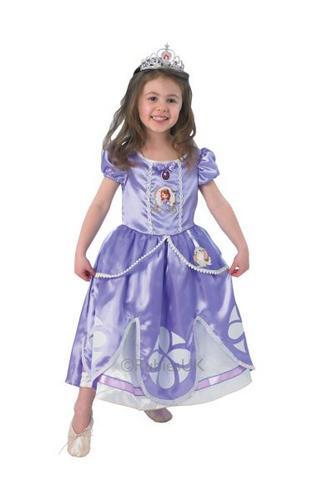 Kids Deluxe Sofia Dress Thumbnail 1