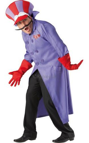 Wacky Races Dick Dastardly Fancy Dress Costume Thumbnail 1